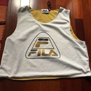 Fila jersey Crop top